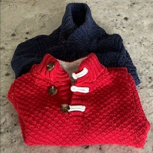 EUC Boys Cat & Jack Sweater Bundle 4t